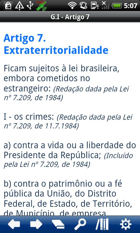 Brazilian Penal Code - screenshot