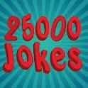 25,000 Jokes logo