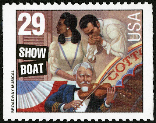 29c Show Boat stamp