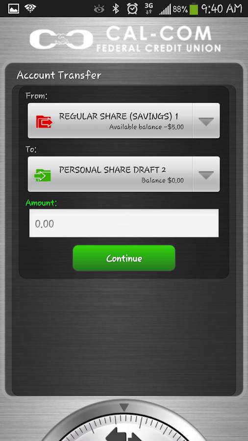Screenshots of Cal-Com Mobile for iPhone