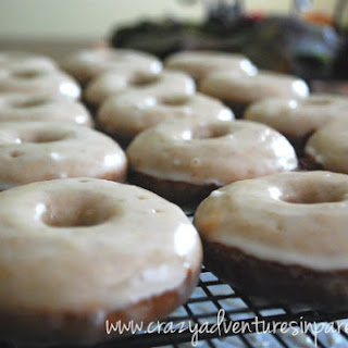 Glazed Strawberry Doughnuts Recipe