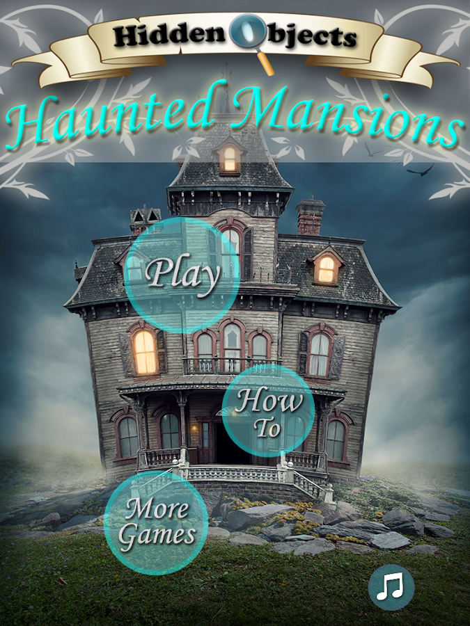 Hidden Objects Haunted Houses FREE- screenshot