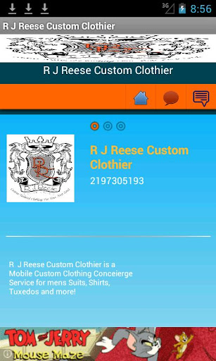 R J Reese Custom Clothier