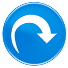 rotate pictures icon