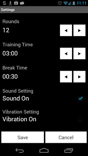 Boxing Timer (Training Timer) 5.4.8 screenshots 5