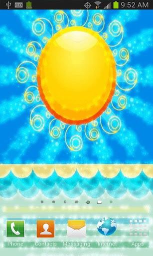 Summer Sun Live Wallpaper