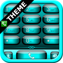 exDialer Jelly Cyan Theme icon