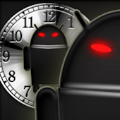 Droid's clock widget