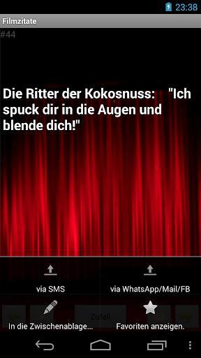 【免費娛樂App】Filmzitate-APP點子