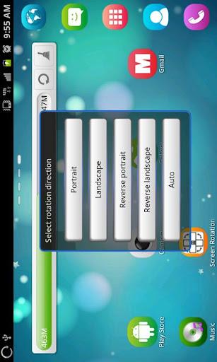 Screen Rotation Control 1.1.1 screenshots 4