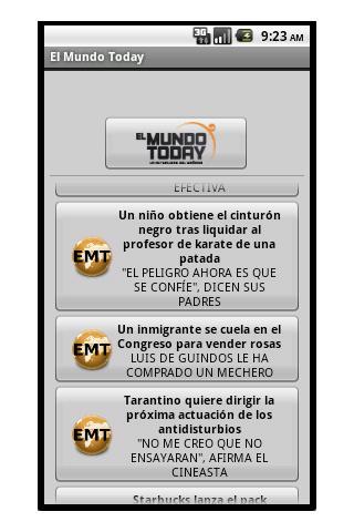El Mundo Today + Rokambol- screenshot