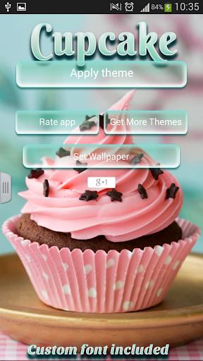 カップケーキのキーボード