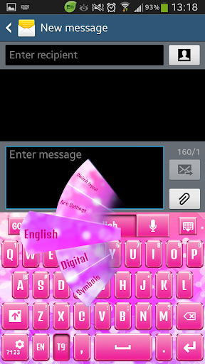 Shiny Pink Keyboard
