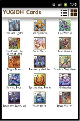 Yugioh Deck Builder - screenshot