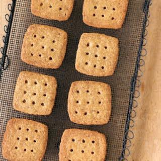 Brown-Sugar and Pecan Shortbread Cookies.