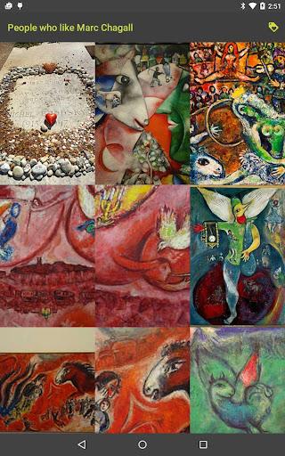 People who like Chagall