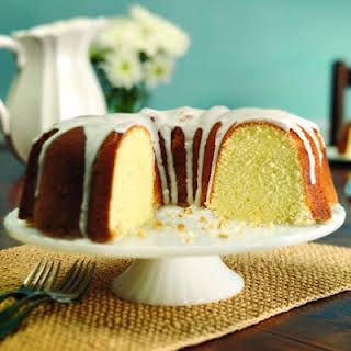 Whipping Cream Pound Cake.
