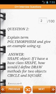 C++ Interview Questions - screenshot thumbnail