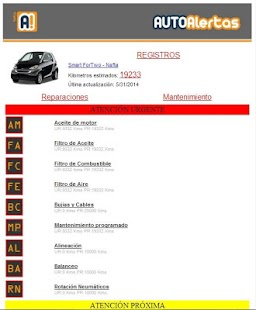 AUTO Alertas- screenshot thumbnail