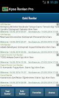 Screenshot of Kpss İlanları Pro