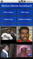 Screenshot of Mexican Meme Soundboard