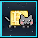 Bitcoin to the Moon icon