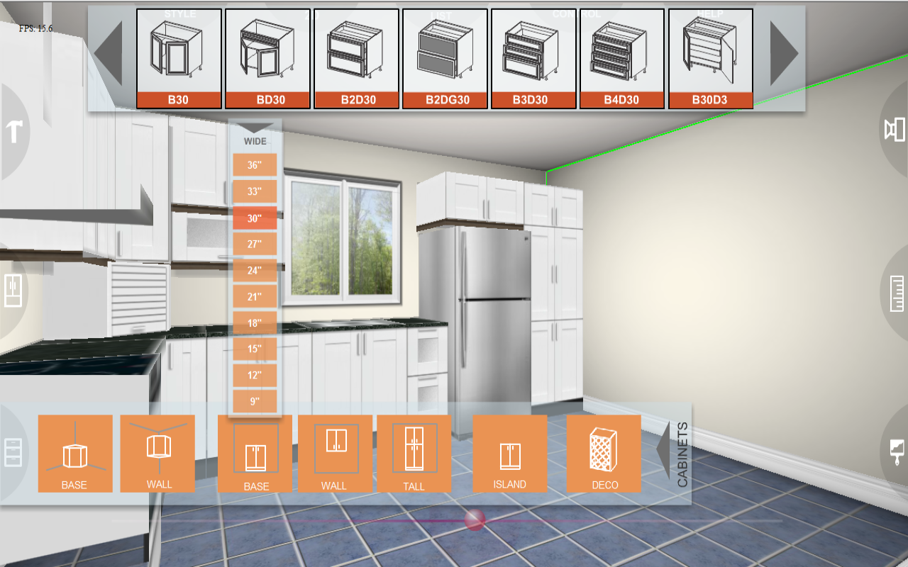 Eurostyle kitchen planner 3d android apps on google play - Simulation cuisine 3d ...