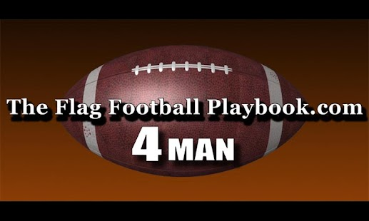 4 Man Flag Football Playbook