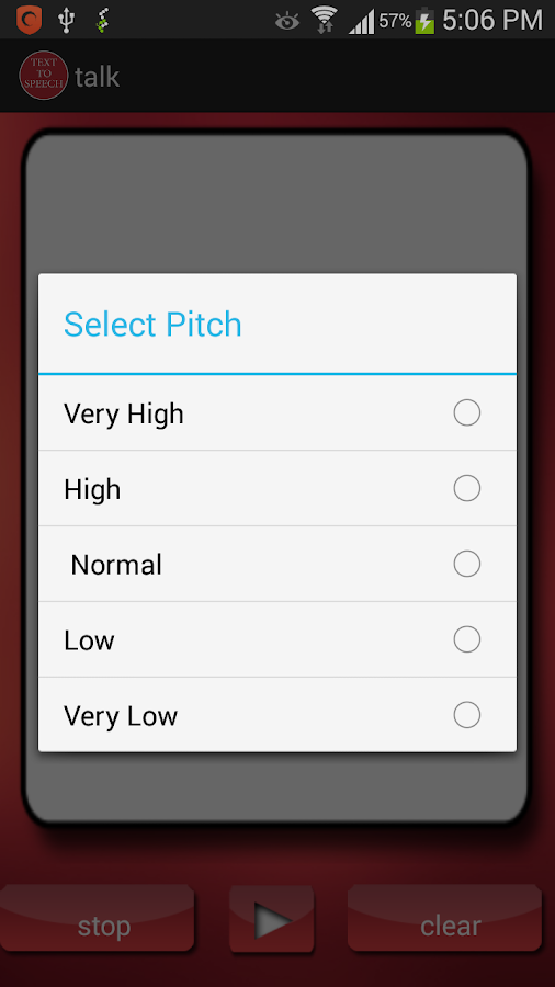 Talk it - Text to Speech- screenshot