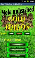 Screenshot of Mole Unleashed Gold Edition