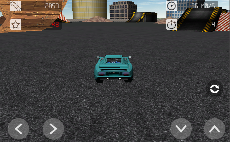 Stunt Car 3D - screenshot