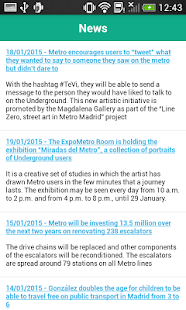 Metro de Madrid Official - screenshot thumbnail