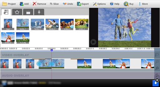 VideoPad Video Editor Free  screenshots 1