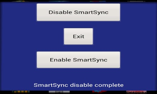 HTC SmartSync Toggle
