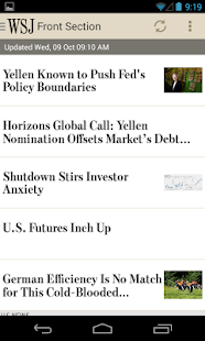 The Wall Street Journal - screenshot thumbnail