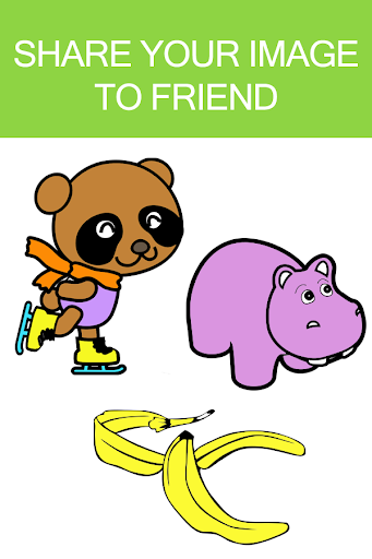 Download Cartoon Coloring Book Games For PC