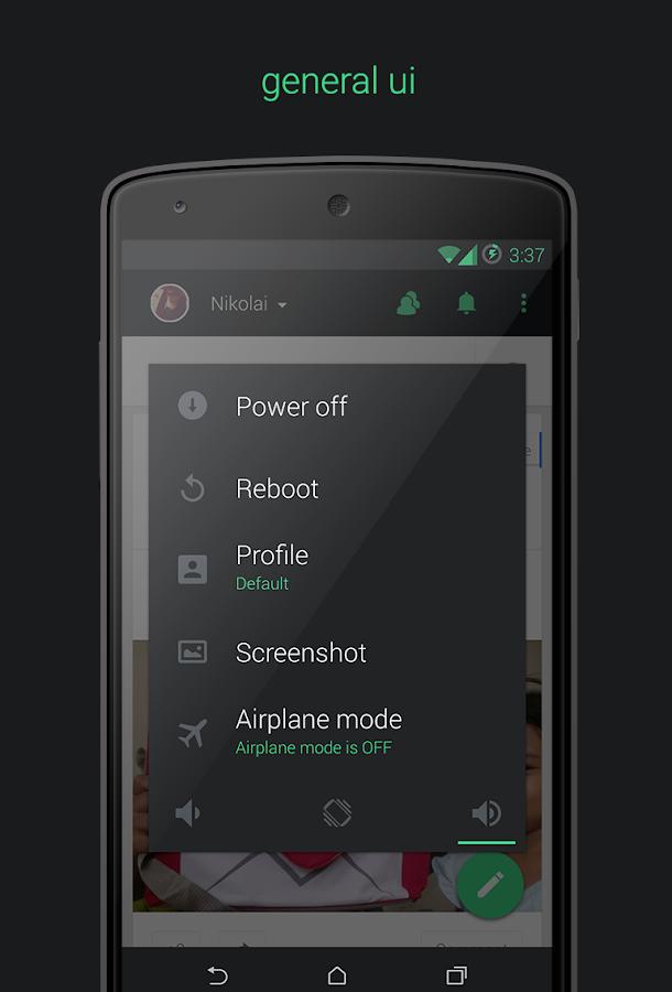 Kreatur UI CM11/PA Theme - screenshot