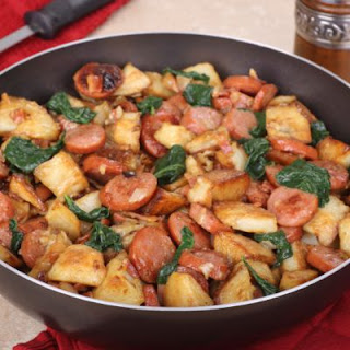 Kielbasa and Potato Skillet