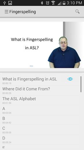 kApp - Sign Language 101