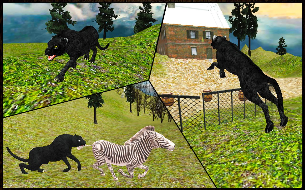 Real Black Panther Wild Attack Android Apps On Google Play