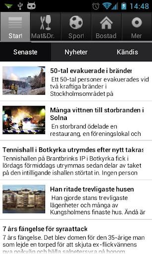 Mitt i Stockholm