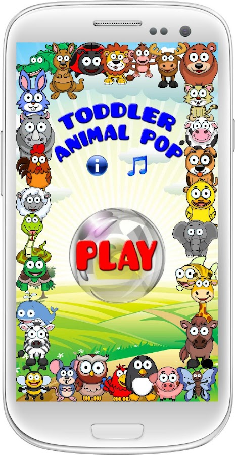 Toddler Animal Pop - screenshot