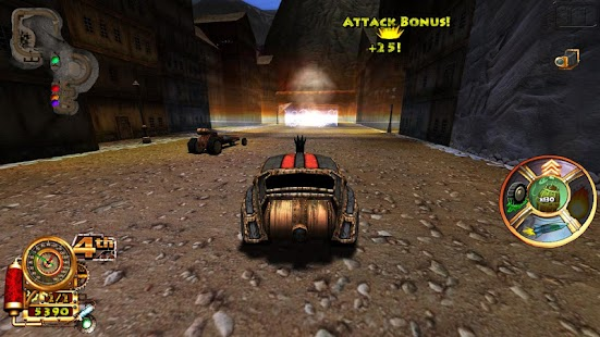 Steampunk Racing 3D Screenshot 2