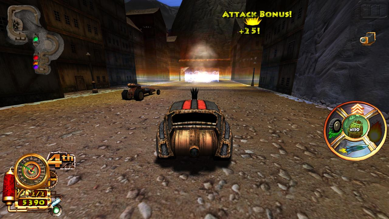 Steampunk Racing 3D- screenshot