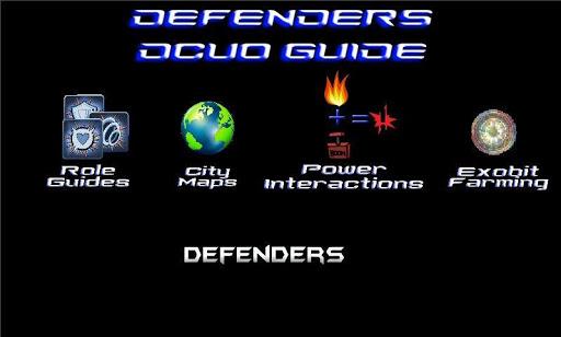 Defenders DCUO Guide