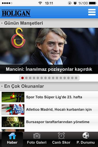 HOLİGAN Güncel spor haberleri