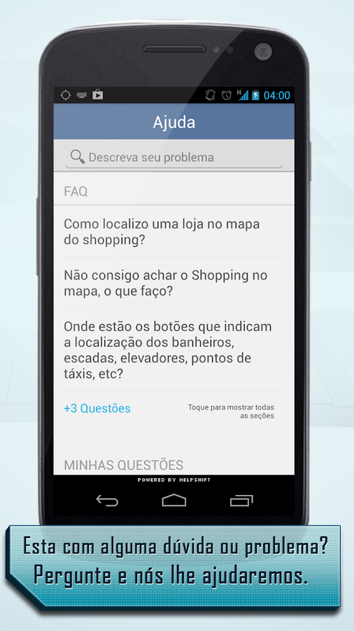 InMap - Salvador Shopping- screenshot