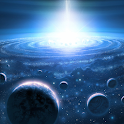 3D Universe Space Wallpaper icon