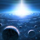 3D Universe Space Wallpaper