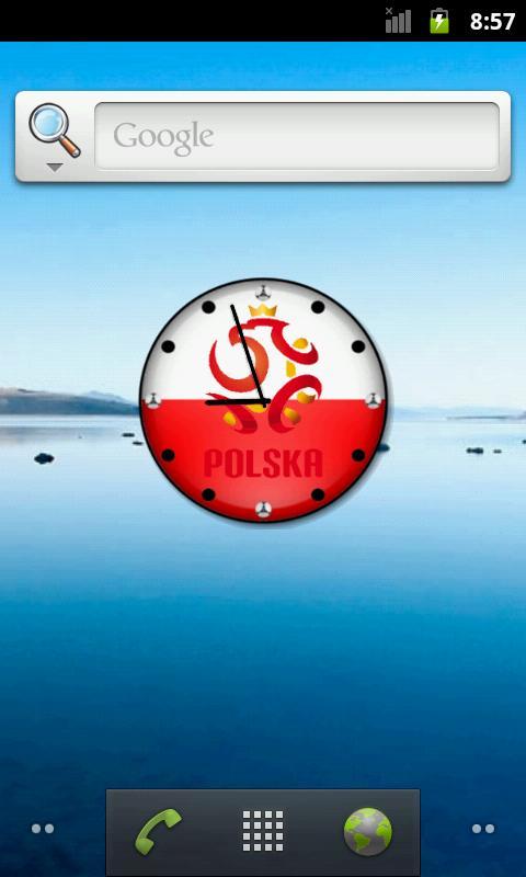 Zegarek Euro 2012 Polska - screenshot